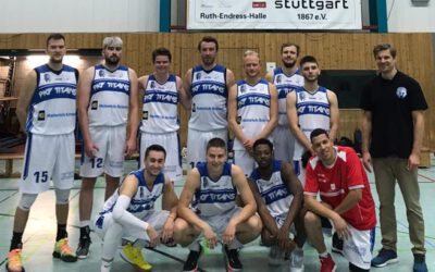 PKF TITANS Regionalliga: erfolgreicher Saisonauftakt gegen Zuffenhausen!